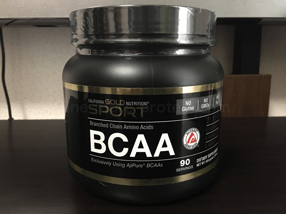 California Gold NutritionのBCAAを飲んだ感想