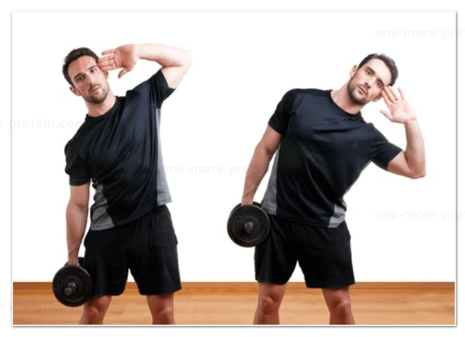 dumbbell-side-bend
