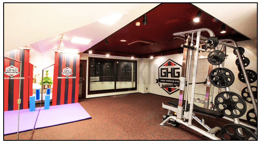 GOAL HUNGER GYM